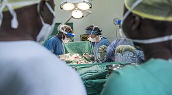 De opererer brokk, men er ikke leger