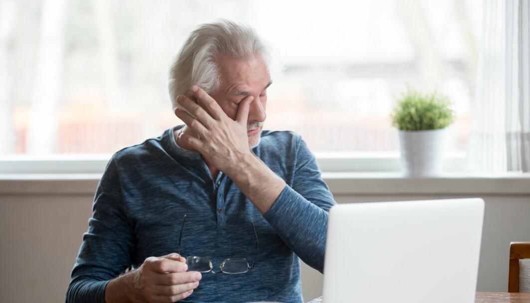Over seks av ti som hadde vært innlagt med covid 19, slet med muskelsvakhet eller kronisk utmattelse et halvt år etter at de ble syke.