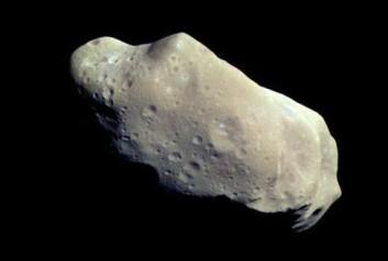 Et ublidt møte med en asteroide eller komet kan knerte en sivilisasjon. (Foto: NASA planetary photojournal)