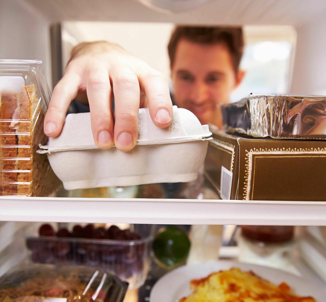 For mye mat i kjøleskapet kan gi litt for gode vilkår for bakterier som gjør folk syke.