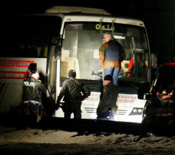 """""""Valdres 2003:Asylsøker drepte medasylant og bussjåfør. (Foto: Hans Arne Vedlog)"""""""