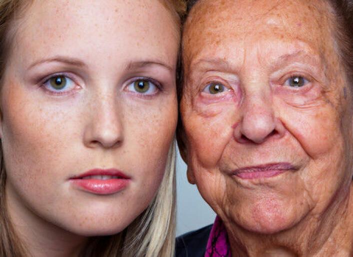Finner vi noensinne en oppskrift som gjør mennesket i stand til å unngå aldring? Vi har spurt tre forskere. (Foto: Colourbox)