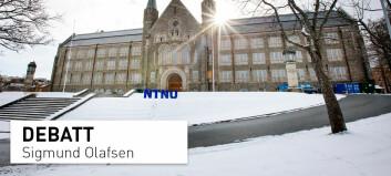 Hvorfor skal NTNU forske på noe som kan være skadelig?