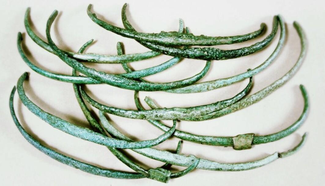 Slike «ribber» av bronse er blitt funnet mange steder i Europa. Kan de ha vært penger?