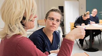 Manglende opplæring sinker bruk av digitale løsninger i helsetjenestene