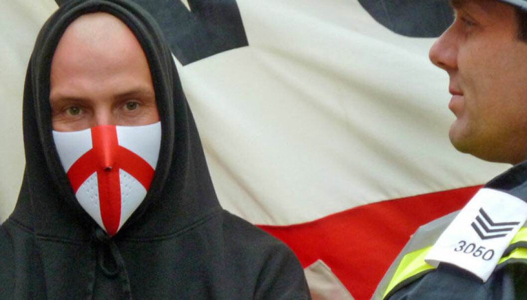 English Defence League. Newcastle 2010. Wikipedia