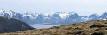 En forkastningssone har skapt det vakre landskapet i Vesterålen og Lofoten. (Foto: Gudmund Løvø/NGU)