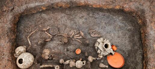 Slik ble ettåringer gravlagt for 2000 år siden
