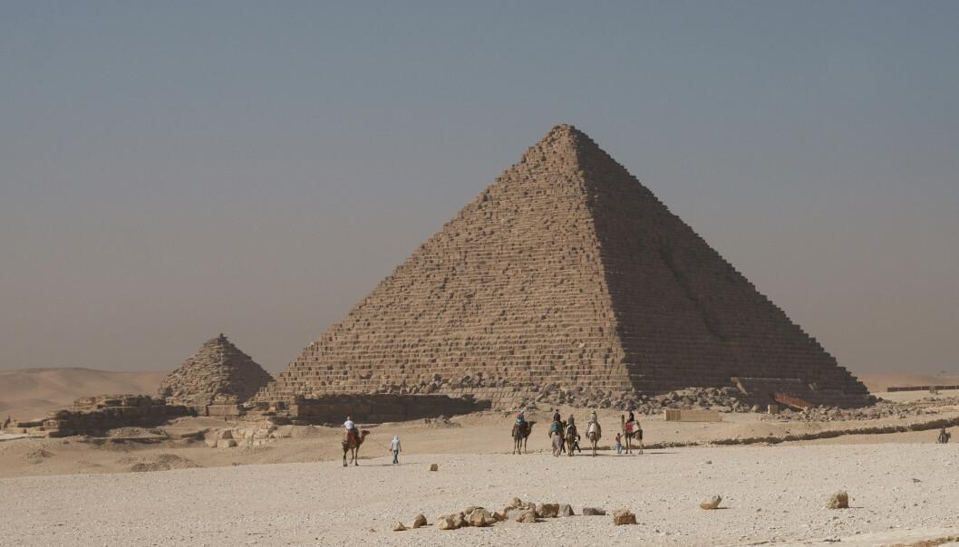 "Menkaures pyramide i Giza. <a href=""http://commons.wikimedia.org/wiki/User:Kallerna"">Kallerna</a> / Wikimedia Commons"