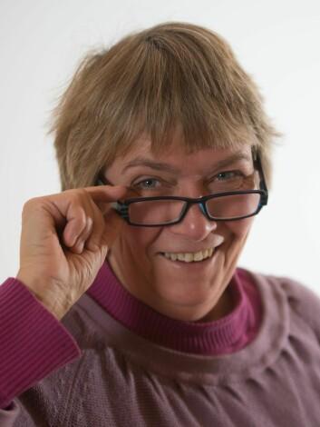 Anne-Kristin Løes mener at juleribba burde kostet langt mer enn den gjør i dag. Foto: Olaf Østbø, Bioforsk