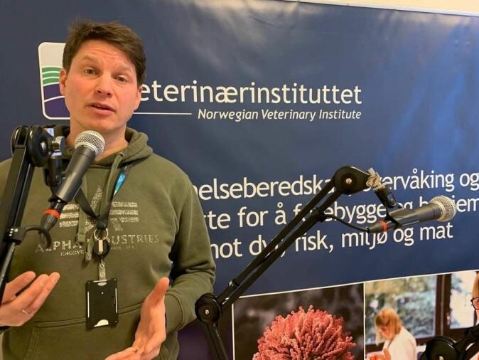 CWD-koordinator ved Veterinærinstituttet Jørn Våge.