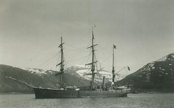 Antarctic, fotografert utenfor Tromsø i 1898. (Foto: Otto Kjellström/Wikimedia Creative Commons)