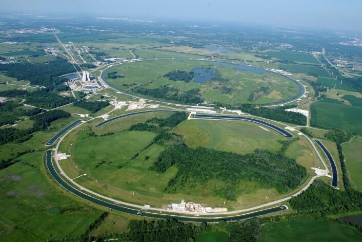 Tevatron-akseleratoren har ikke blitt brukt siden september 2011 på grunn av økonomiske nedskjæringer. (Foto: Wikimedia Commons)