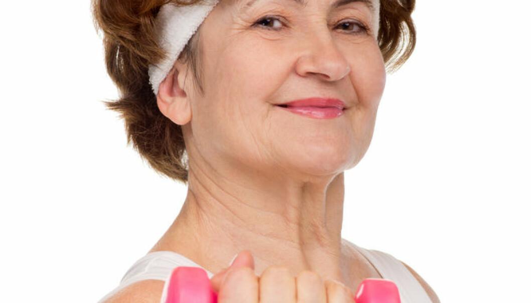 Aktive kvinner lever lenger