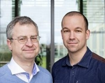 Forskerne Jan Dumanski og Lars Forsberg ble overrasket da de fant sammenhengen mellom tap av Y-kromosomer og tidligere død. (Foto: Mikael Wallerstedt, Uppsala universitet)