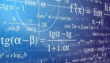 Biologi og andre fag gjør stadig oftere bruk av komplekse matematiske beregninger. (Illustrasjon: Colourbox)