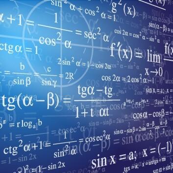 Biologi og andre fag gjør stadig oftere bruk av komplekse matematiske beregninger. (Foto: (Illustrasjon: Colourbox))
