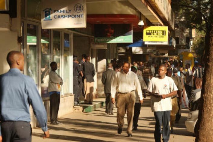 Kenya er et av landene i Afrika sør for Sahara som opplever økonomisk vekst. (Foto: iStockphoto)