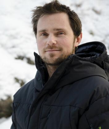 Doktorgradsstipendiat Thomas Losnegard. (Foto: Andreas B. Johansen)