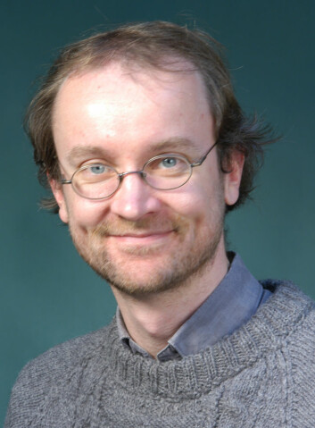 Øyvind Hammer. (Foto: Universitetet i Oslo)