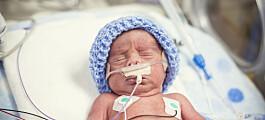 Høyere dødelighet i voksen alder for tidligfødte