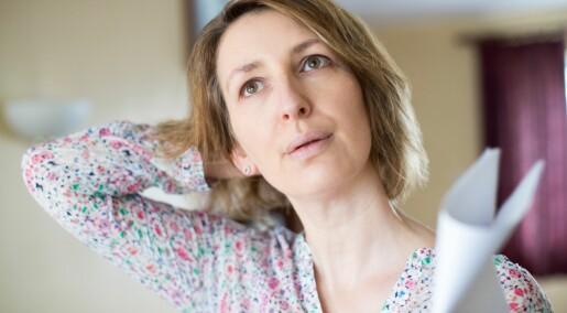 Forskere advarer: Når kvinner har symptomer på høyt blodtrykk, blir det ofte feiltolket som stress og overgangsalder