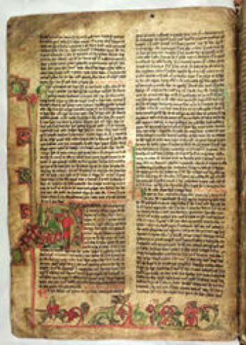 AM 720 a VIII 4to er navnet på dette manuskriptet, som er ett av fem der sagaen om Eirik den vidfarne dukker opp. I dette er bare starten på sagaen bevart, og den er plassert sammen med en jærtegnfortelling om jomfru Maria og diktet Lilja, en hyllest til jomfru Maria.