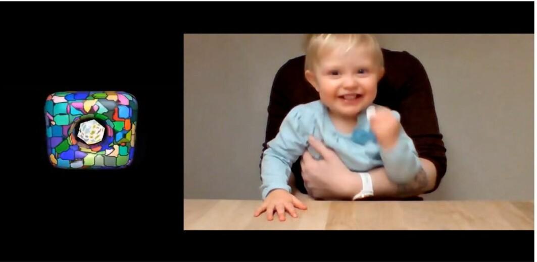 Da koronaen kom, måtte forskerne finne nye måter å teste babyer på. Ida Zlatan Dalan Mitrovic var en av babyene som ble testet via Zoom.