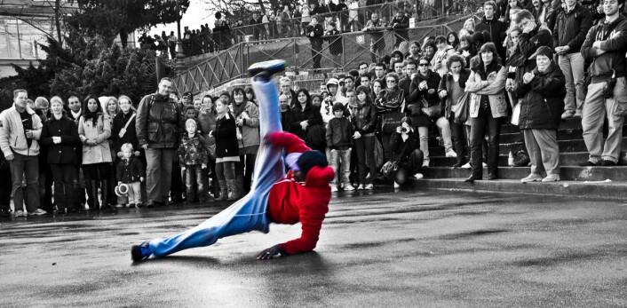 Breaking handler om å vise fram sine egne, individuelle bevegelser. (Foto: Flickr/Daniel Wehner)