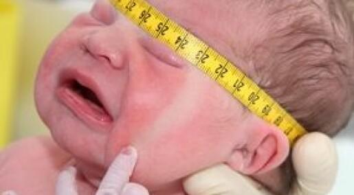 Fødselsvekt påvirker hjernen