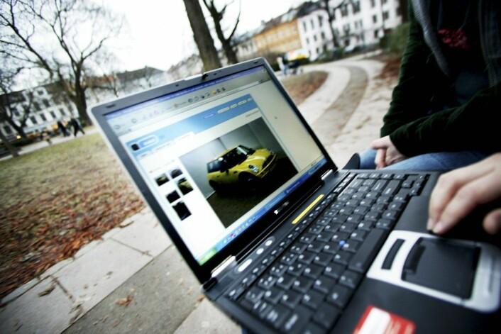 Det er ingen garantier for at man finner alt det man leter etter når man søker på Internett. (Foto: Paal Audestad, Samfoto)