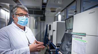 Jakten på det muterte viruset: – Vi kjenner på tidspresset