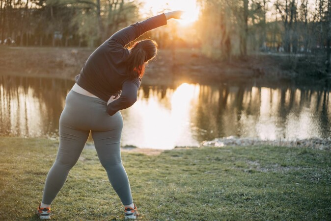 It is well known that exercise is a key to better health, but that so little is needed to virtually eliminate the dangers of being overweight is new.