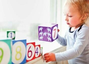 Norske barn er bedre på puslespill enn telling sammenlignet med barn fra andre land. (Foto: Elisabeth Tønnesen)