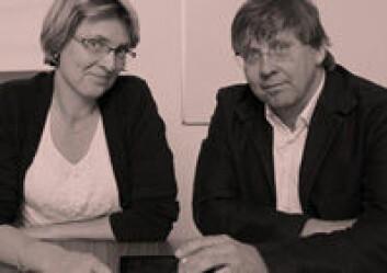 Kolleger ligner ektepar. (Foto: (Illustrasjon: Annica Thomsson))