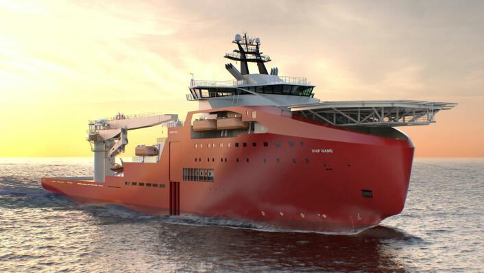 Mange båter har løsninger som ikke ble oppfunnet før etter at byggingen hadde begynt. (Foto: (Illustrasjon: Vard))