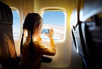 Det er veldig uvanlig å reise med fly