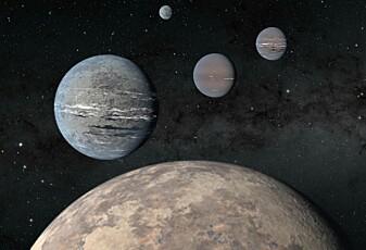 Skoleelever fant fire fremmede planeter