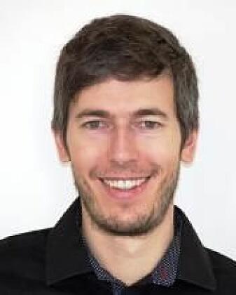 Fabio Crameri ved Institutt for geofag på Universitetet i Oslo.