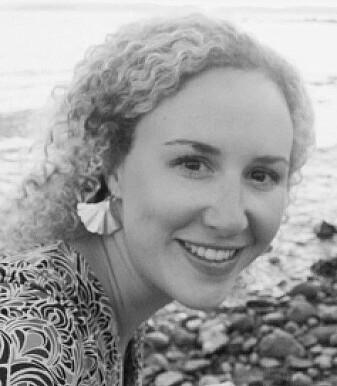 Grace Sheppard van de afdeling Geowetenschappen van de Universiteit van Oslo.