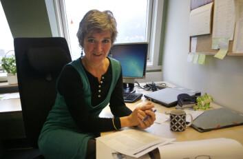 Jannike Mohn er spesialsykepleier og stipendiat ved Høgskolen i Bergen. Hun har i mange år jobbet med vannlatingsproblemer hos barn i alderen 0-18 år, som uroterapeut ved Haukeland Universitetssykehus. (Foto: Andreas R. Graven)
