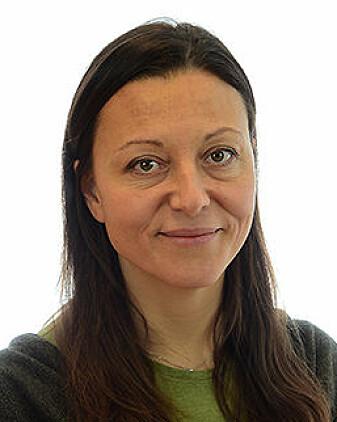 – Vi fann ingen effekt når det gjaldt tankar om sjølvskading etter fødselen, eier Angela Lupattelli.
