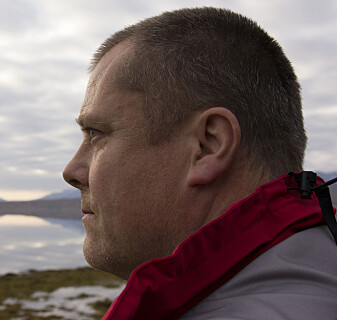 Professor Jørgen Berge, in Arctic Marine Biology and Vice Dean for Research.