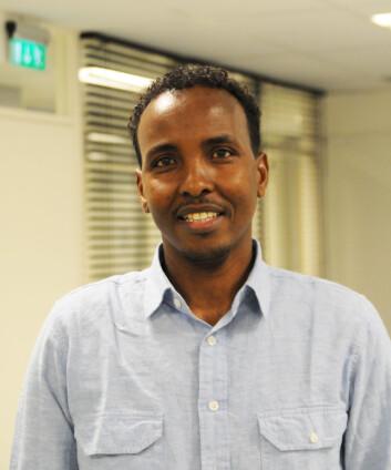 Abdi A. Gele mener den manglende deltakelsen i frivillige organisasjoner er en utfordring for integreringen av eldre innvandrere. (Foto: HiOA)