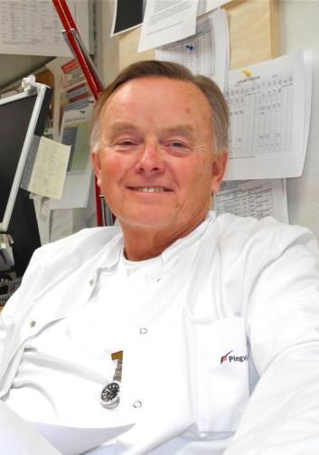Professor Tore Gutteberg. (Foto: Elisabeth Øvreberg)