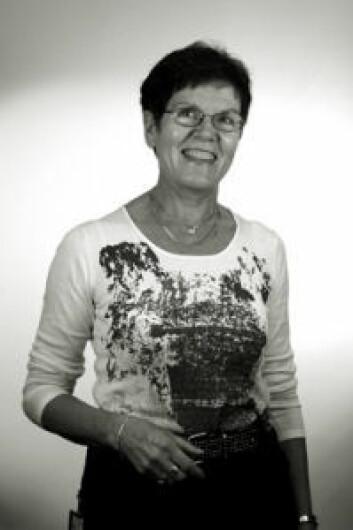 """""""Et overordnet mål med prosjektet har vært å bidra til kvalitetsutvikling i profesjonsutøvelsen ved å utvikle og forbedre profesjonsutdanningen, sier Esther Hjälmhult som har forsket på helsesøsterstudenter i praksisstudier. Foto: Mauricio Pavez"""""""