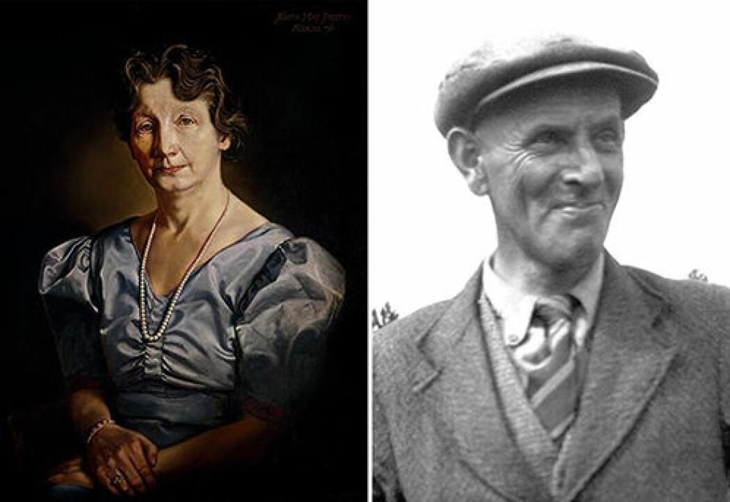 Hovedpersoner i den virkelige historien – og i filmen – er arkeologi-interesserte Edith Pretty og Basil Brown som kalte seg selv «digger».