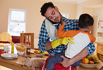 Dads spend an hour more each day on housework and childcare than they did in 1980
