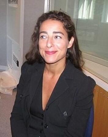 Joanna Rubin Dranger, professor i illustrasjon, forsker på bilders makt og innflytelse i samfunnet. (Foto: Ida Irene Bergstrøm, Kilden)