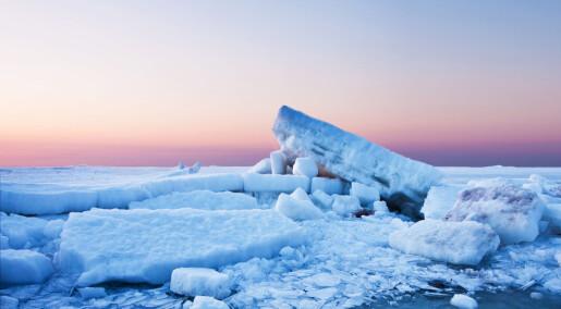 Ny forskning viser hvor mye is som har forsvunnet fra kloden siden 90-tallet